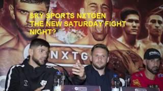 NXTGEN The New Saturday Fight Night?
