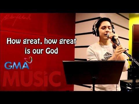Alden Richards I How Great Is Our God I Lyric Video