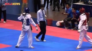 vuclip Emas di Cabang Taekwondo