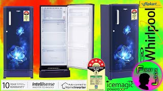Whirlpool 190 L Single Door 5 Star Refrigerator Unboxing & Review | FIRST LOOK