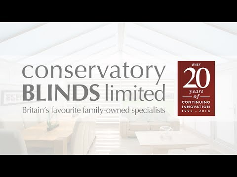 Made to Measure Blinds from Conservatory Blinds Limited