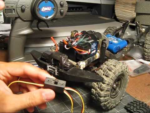 How To Run A Rc Winch With Only A 2ch Radio Youtube