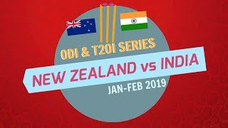 India to Tour New Zealand for five ODIs and 3 T20Is | Full Schedule, Squad