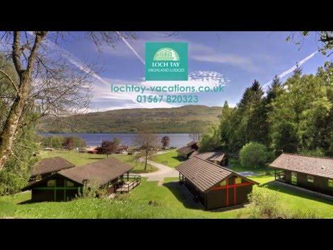 Loch Tay Highland Lodges - Superb Lochside Lodge & Glamping Holidays 2016