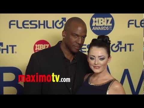 Sophie Dee & Lee Bang 2013 XBIZ Awards Red Carpet Arrivals  She Refused to Pose by Herself