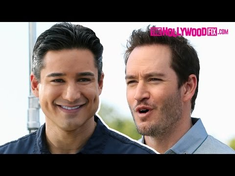 MarkPaul Gosselaar & Mario Have A Saved By The Bell Reunion In Los Angeles  TheHollywoodFix.com