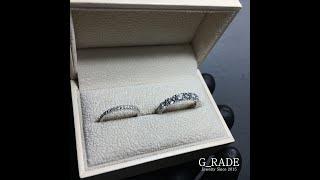 G_RADE Jewelry 지레이드 쥬얼리 [Half Eternity Ring]