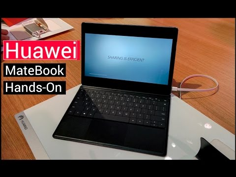 Huawei MateBook - Hands On from MWC, Barcelona
