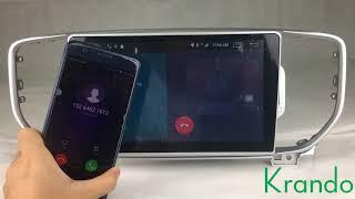 krando android 6.0 2G RAM car dvd multimedia player for kia sportage 2016+ support 4G sim card obd2