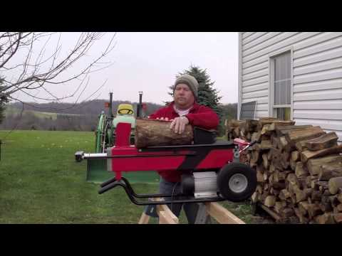 Harbor Freight 7 Ton Log Splitter