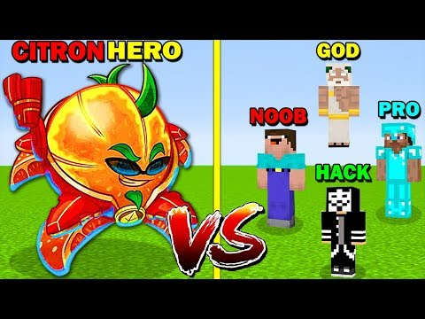 minecraft-battle:-citron-hero-vs-noob-vs-pro-vs-hacker-vs-god---funny-minecraft-trolling-battle
