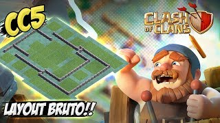 LAYOUT BRUTO PARA CC5 - BASE DO CONSTRUTOR - CLASH OF CLANS