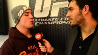 Pre-fight interview with Andy Ogle at UFC on Fuel 7 London 2013