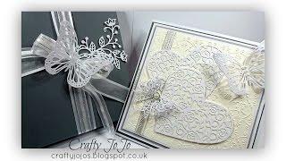 Opulent wedding card !