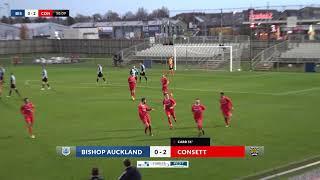 Bishop Auckland v Consett 10th November 2018 3pm Kick Off Highlights