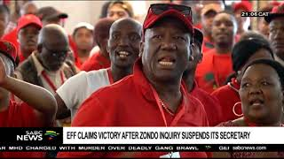 Eff Claims Victory After Suspension Of Zondo Commission Secretary