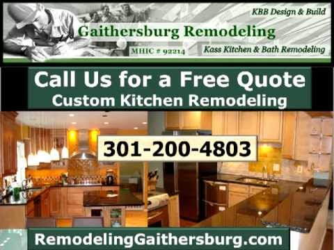Kitchen Remodeling Gaithersburg, MD | Call (301) 200-4803 | Kitchen Remodel  Gaithersburg, MD