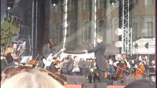 Симфоническое Кино - Наши в Городе 04.06.16 Санкт-Петербург Дворцовая площадь