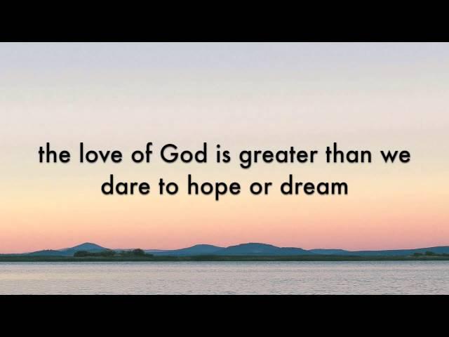 The Austin Stone - God Undefeatable (Lyric Video)