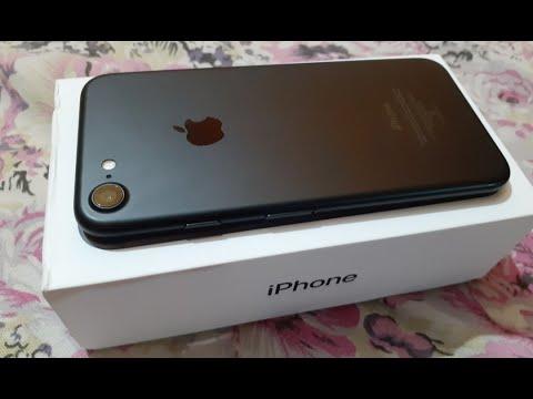 2019 New Iphone 7 Matte Black Unboxing || IPHONE 7 New Look HINDI