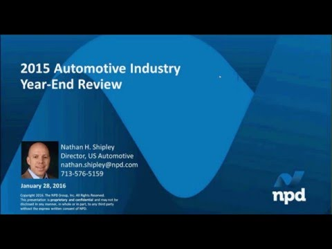 2015 Automotive Industry Year-End Review