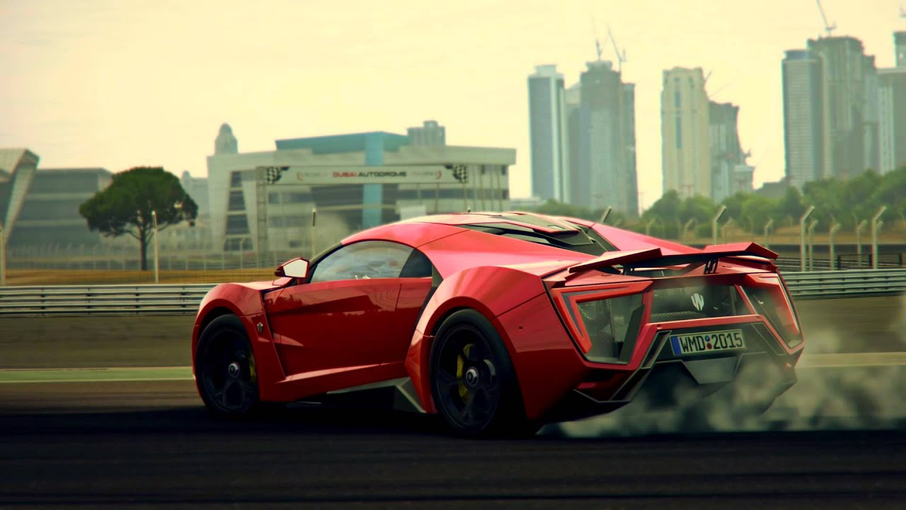 Project CARS Free Car 1 Lykan Hypersport YouTube