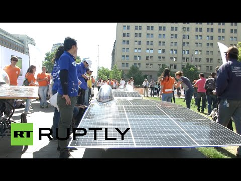 Speed of Light: Dazzling sun-powered vehicles showcased ahead of solar race