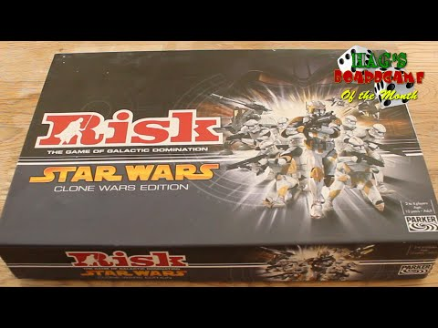 Unboxing Star Wars Risk - Clone Wars Edition  - Hags Boardgame Of The Month