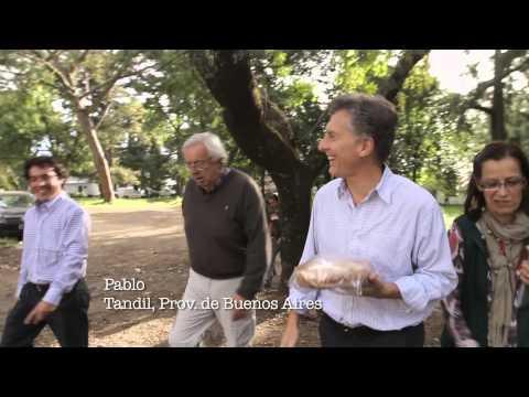 """<h3 class=""""list-group-item-title"""">En cada rincón, ESTAMOS JUNTOS   Mauricio Macri</h3>"""