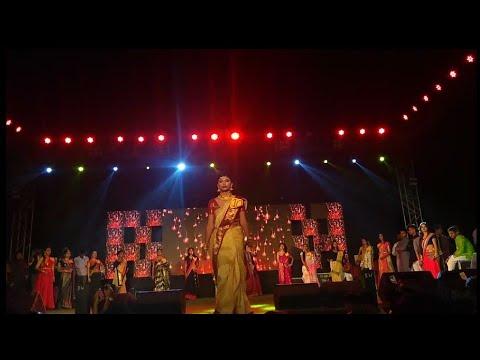 Fashion night in Kanchrapara College...