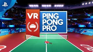 VR Ping Pong Pro | Launch Trailer | PS4