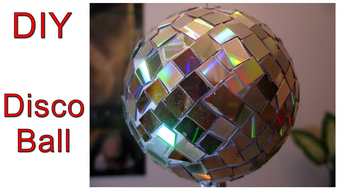 Diy Crafts Disco Ball Ana Diy Crafts Youtube