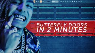 How To Make | Lil Pump - Butterfly Doors [IN 2 MINUTES] + Free FLP Video