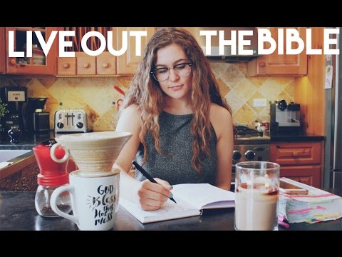 Practical Tips on HOW TO LIVE OUT THE BIBLE // Christian Advice