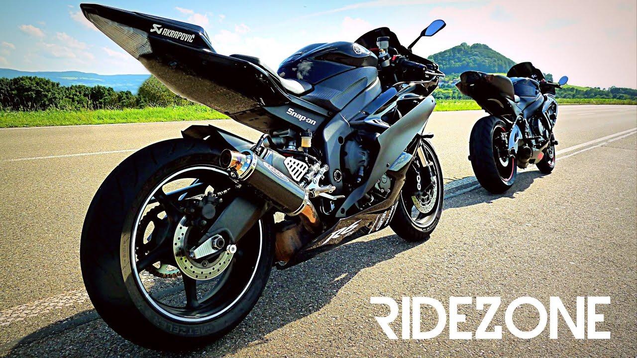 New Season 2016 | Yamaha R6 and GSXR 600 | Ridezone - YouTube