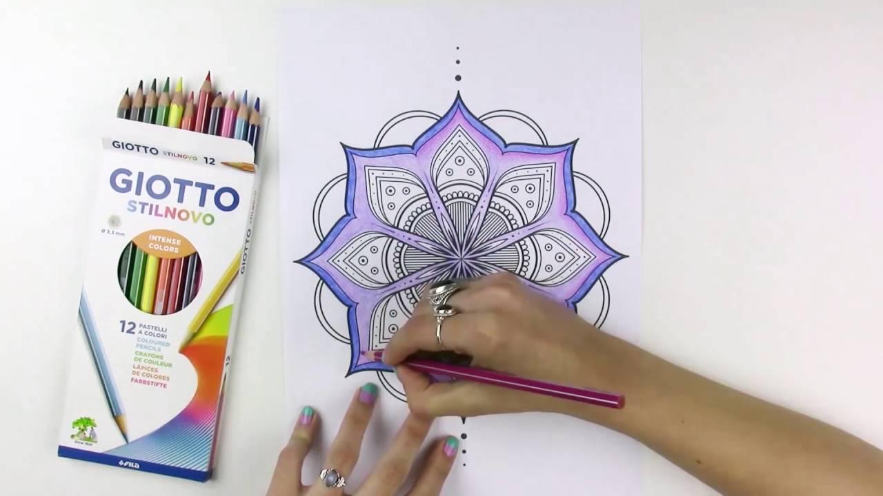 Mandala efecto degradado youtube - Mandalas en colores ...