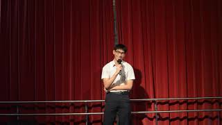 Publication Date: 2018-06-05   Video Title: 中華傳道會劉永生中學 sing con 獨唱 4B 盧一鳴