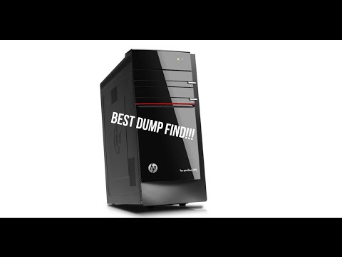 best-trash-picked-computer-ever!!!-hp-pavilion-hpe-review