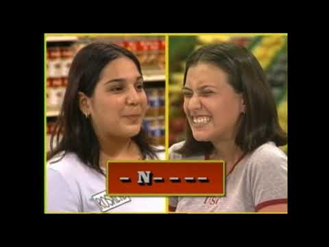 Supermarket Sweep - Johanna & Rosalie vs. Eric & Chris vs. Marizel & Louella (2000)