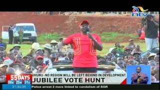 Video Jubilee campaigns in Elgeyo Marakwet and West Pokot download MP3, 3GP, MP4, WEBM, AVI, FLV September 2018