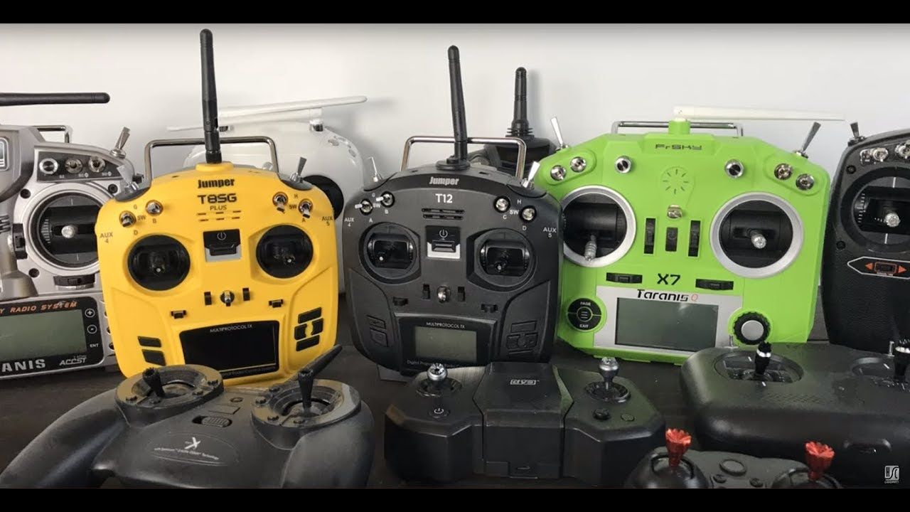 Jumper T12 vs Taranis QX7 -What is the best drone remote?
