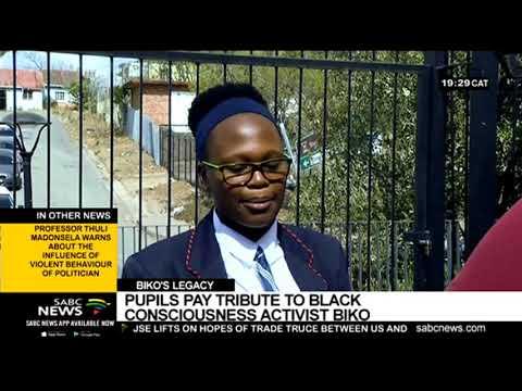 Eastern Cape Youth Pay Tribute To Steve Biko