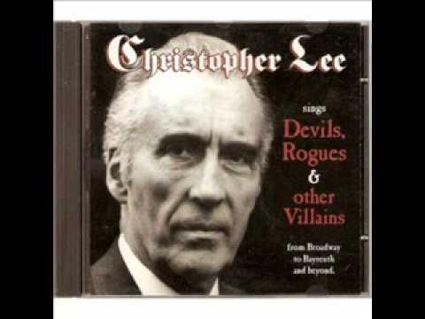 Die Moritat von Mackie Messer - Die Dreigroschenoper - Christopher Lee