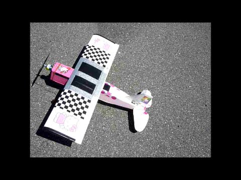 Rc Plane Hello Kitty at RCSMP Crap Landings