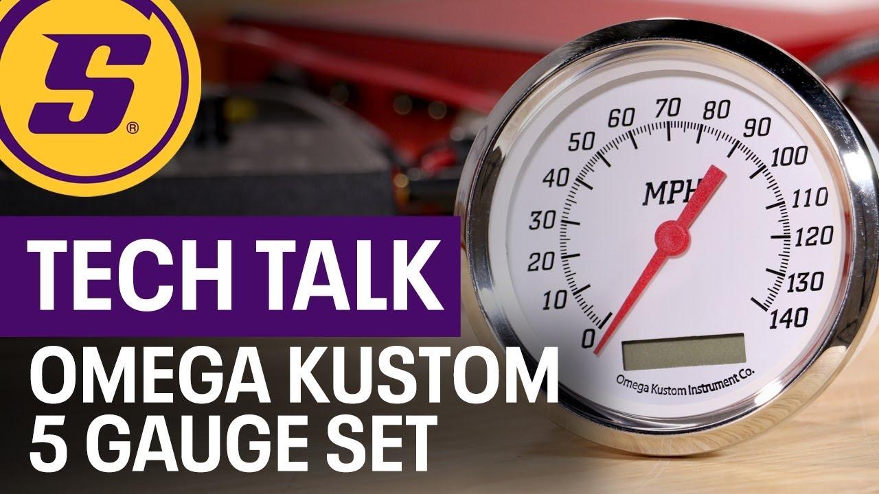 Tech Talk Omega Kustom 5 Gauge Set - YouTube Omega Kustom Gauges Wiring Diagrams on egt gauge diagram, fuel gauge diagram, gauge parts, speakers diagram, gas gauge diagram, gas meter installation diagram,