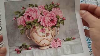 Новинка! Обзор Luca-S BA2319 Розовые розы