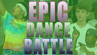 MattyBRaps EPIC DANCE BATTLE - EP 4 (Justin vs Elijah)