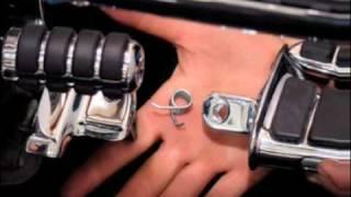 kuryakyn swingwing footpeg and splined adapter install on a vtx 1300 cruiser customizing video