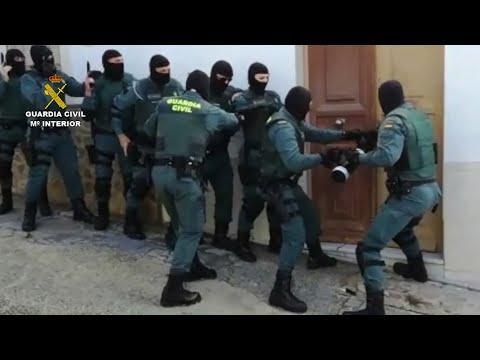 Desmantelada una red de narcotraficantes con once detenidos en Baena (Córdoba)