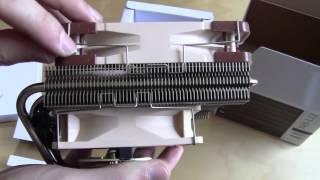 Noctua NH-L12 CPU Cooler Unboxing & Overview